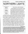 Northern Lights November 10, 1997...